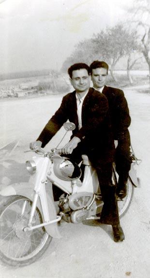 In motocicletta
